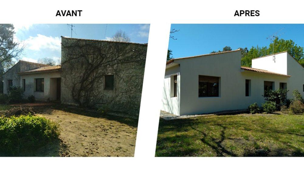 Ravalement de façade - Vendée