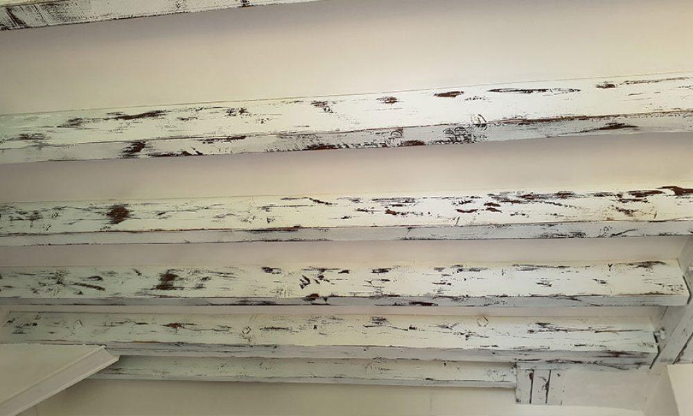 Peinture céruse blanche décoration