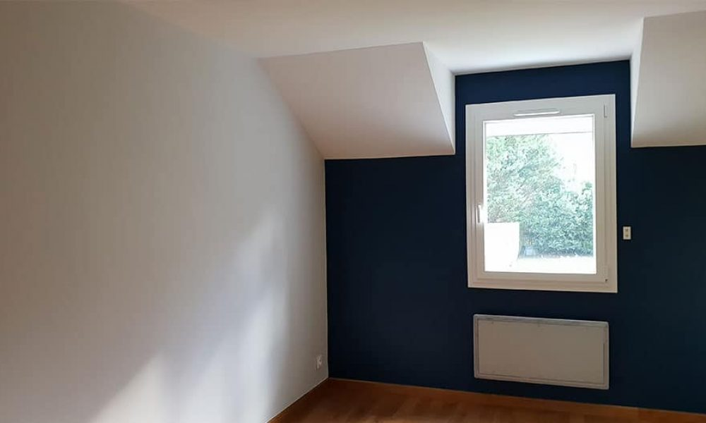 Peinture bleu nuit chambre