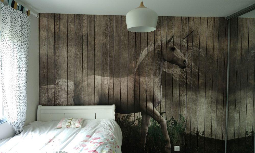 Revêtement mural chambre